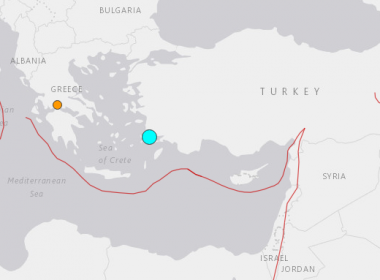 Magnitude-6.7 earthquake strikes near Turkey, Greece: USGS
