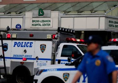 A gunman barged inside a hospital in New York and fired shots, killing one doctor. AFP