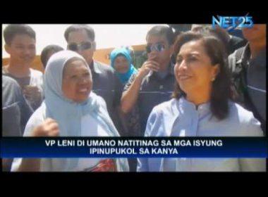 VP Robredo ready to face new impeachment complaint