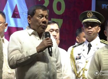 WATCH: President Duterte makes surprise visit at SONA rally