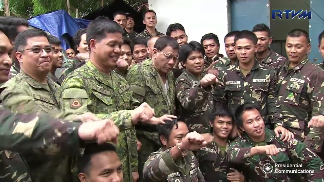 WATCH: President Duterte visits war-torn Marawi