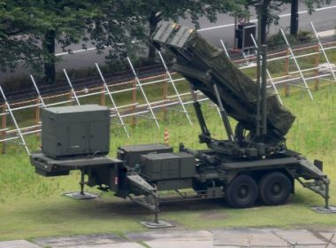 A PAC-3 surface-to-air missile launch system is seen deployed at the defence ministry in Tokyo on July 4, 2017. North Korea launched a ballistic missile on July 4 as the United States prepared to celebrate its Fourth of July independence day, just days after Seoul's new leader Moon Jae-In and US President Donald Trump focused on the threat from Pyongyang in their first summit. / AFP PHOTO / Toshifumi KITAMURA