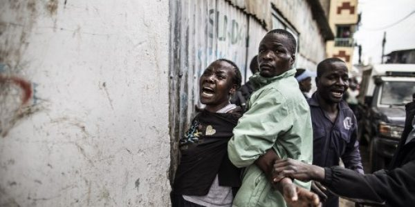 News in photo:  Unrest in Kenya after general elections