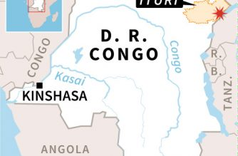Up to 250 feared dead in DRCongo mudslide