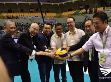 ASIAN volleyball competition opens to cheering crowd in Biñan, Laguna; PHL team off to good start