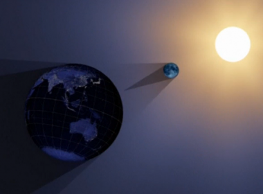 Animation of total solar eclipse (Photo grabbed from Reuters video)