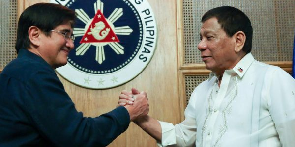 News in photo:  President Duterte meets with Honasan and RAM members in Palace