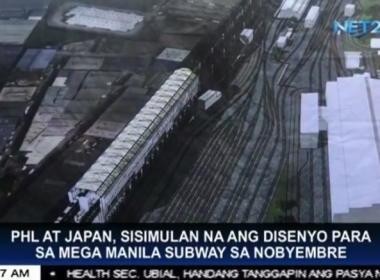 PHL at Japan, sisimulan na ang disenyo para sa Mega Manila subway sa Nobyembre