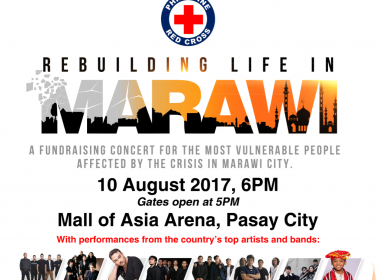 Philippine Red Cross sets 'Rebuilding Life in Marawi' benefit concert on Aug. 10
