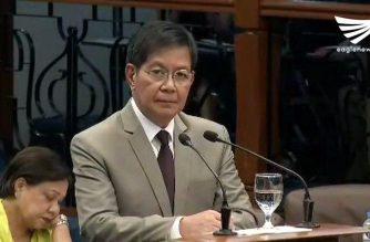 Senator Panfilo Lacson bares the systemic corruption at the Bureau of Customs (BOC) in an explosive privilege speech at the Senate on Wednesday, August 23, 2017 (Eagle News Service)