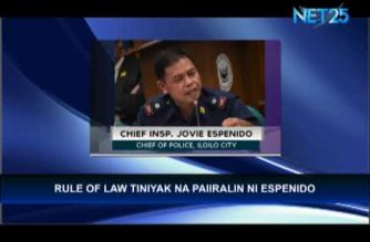 Palace: PNP cancelled Espenido's reassignment to Iloilo, not Malacañang
