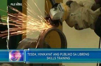 TESDA, hinikayat ang publiko para sa libreng skills training