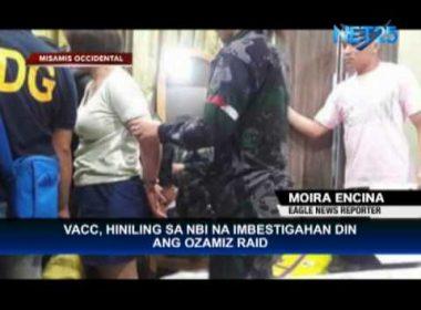 VACC asks NBI for separate probe on Ozamiz raid