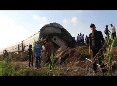 Video:  Egypt train collision kills at least 37: ministry