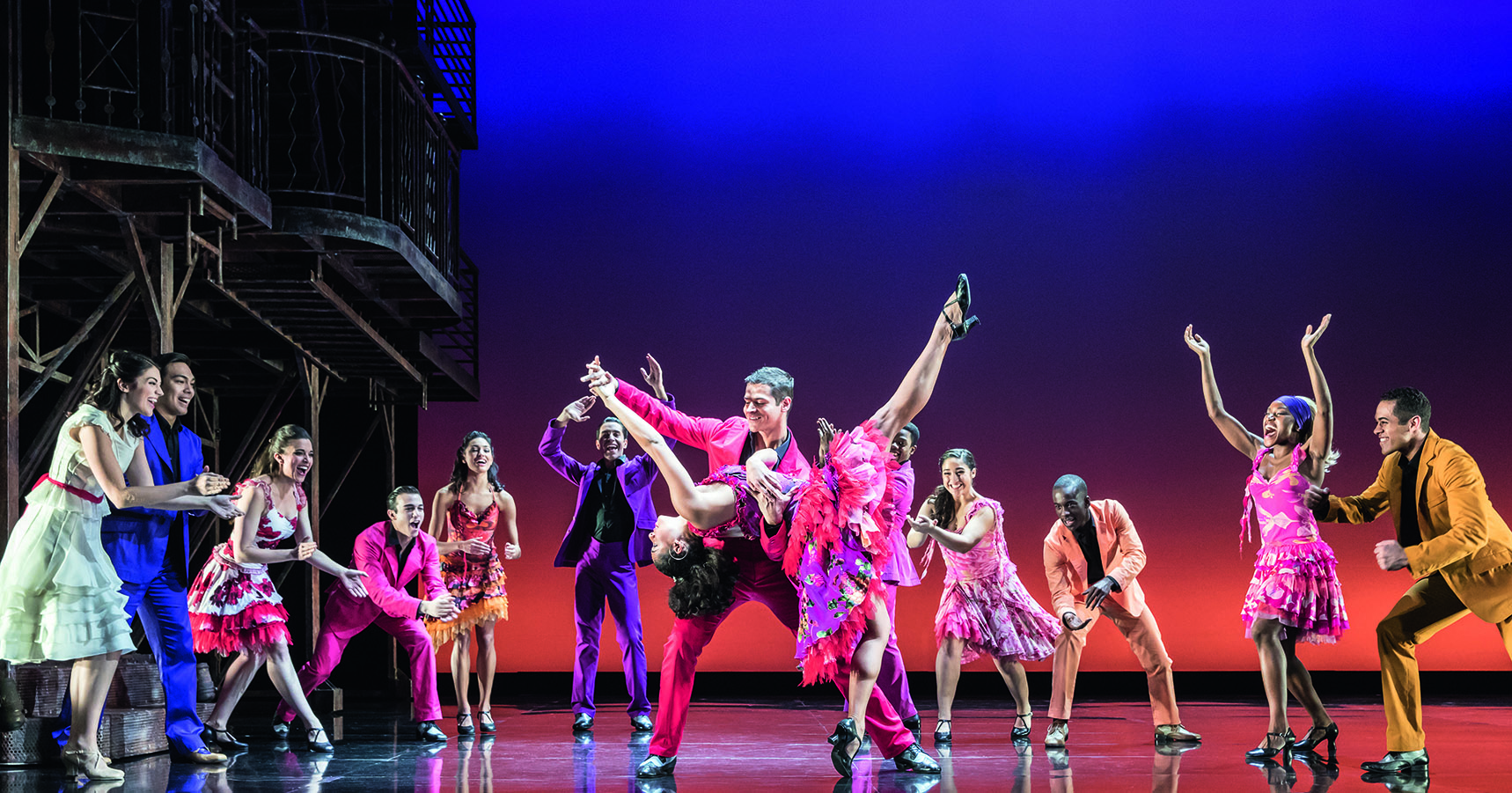 movement and dance in the musical west side story