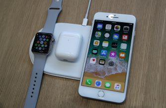 The new iPhone 8 and Apple Watch Series 3 are displayed on the new AirPower during an Apple special event at the Steve Jobs Theatre on the Apple Park campus on September 12, 2017 in Cupertino, California. Apple held their first special event at the new Apple Park campus where they announced the new iPhone 8, iPhone X and the Apple Watch Series 3.   Justin Sullivan/Getty Images/AFP