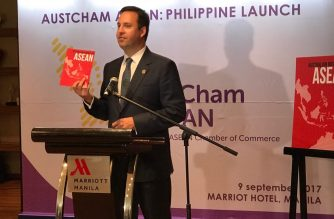 Australian Trade Minister launches AustCham ASEAN in the Philippines