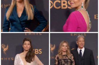 Stars bring Hollywood glamour to Emmys red carpet
