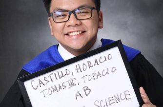 Profile photo of hazing victim, UST law student Horacio Castillo III, in his Facebook page. (Photo grabbed from Horacio Castillo III's Facebook page)