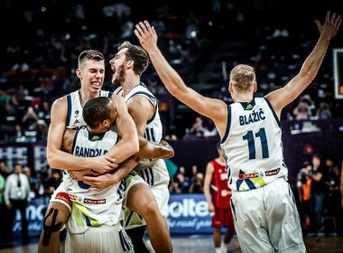 From Fiba website. Slovenia wins tournament after beating Serbia