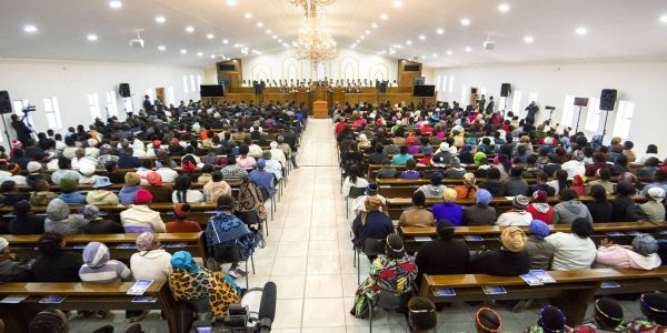 The 800-seater Iglesia Ni Cristo house of worship in Ladybrand, South Africa