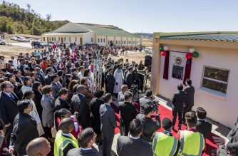 The Iglesia Ni Cristo School for Ministers in Ladybrand, South Africa which was inaugurated on August 6, 2017 by INC Executive Minister Brother Eduardo V. Manalo.   (Eagle News Service)