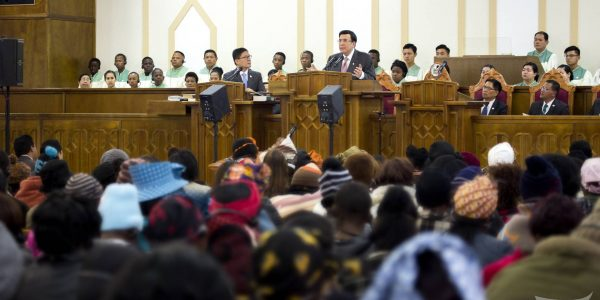 INC Executive Minister officiates house of worship dedication in Ladybrand, South Africa