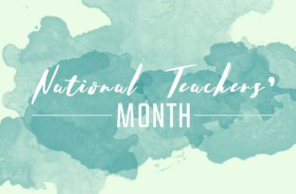 September is National Teachers' Month