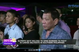 President Duterte willing to open borders to Indonesia, Malaysia to fight IS-linked militants