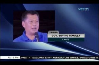 """Cavite declares state of calamity after """"Maring"""" devastation"""
