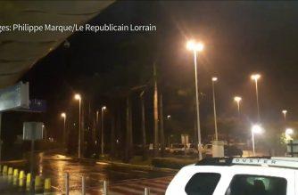 Hurricane Maria lashes Guadeloupe