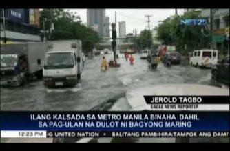 Metro Manila suffers severe flooding due to torrential rainfall