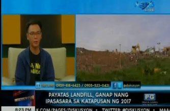Payatas landfill, ganap nang ipasasara sa katapusan ng 2017