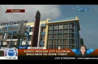 Puerto Princesa City Coliseum binulabog ng bomb threat