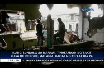Some Marawi soldiers also affected by dengue, malaria, leptospirosis, dog bites