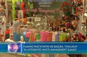 Tamang pagtatapon ng basura, tinalakay sa Integrated Waste Management summit