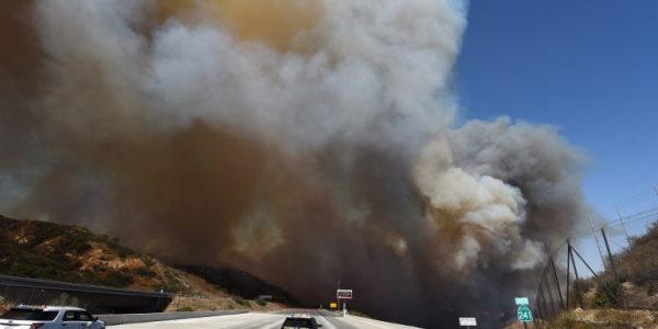 News in photos:  Fast-moving wildfires tearing through California's wine country