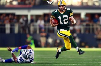 Aaron Rodgers, QB Green Bay Packers {Courtesy: AFP)