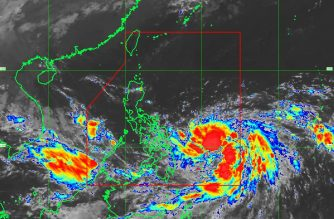 """""""Paolo"""" as of 10 a.m., Oct. 17, 2017. C/o Pagasa"""