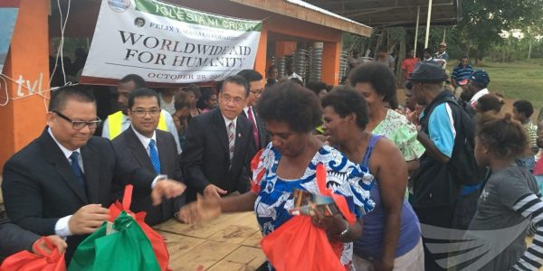 #AidforHumanity in Vanuatu as INC conducts simultaneous Lingap sa Mamamayan worldwide