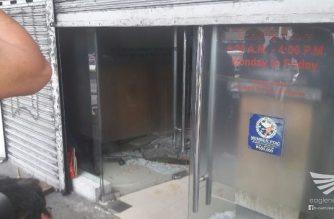 Panloloob sa China Bank sa Fairview, Quezon City, iniimbestigahan na