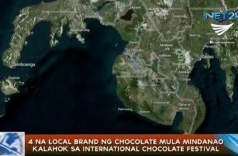 4 na local brands ng tsokolate mula Mindanao kalahok sa Int'l Chocolate Festival sa France at US