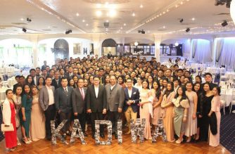 Iglesia Ni Cristo youth members in Australia attended a formal get-together on October 2.  (Photo from EBC Australia Bureau)