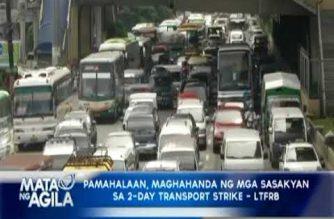 Palace: Jeepney modernization program to push through despite 2-day transport strike