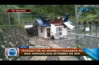 Transmitter ng MOPRECO, pinasabog ng mga hinihinalang miyembro ng NPA