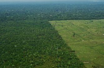 Aerial view of deforestation in the Western Amazon region of Brazil on September 22, 2017.  Parts of the Western Amazon rainforest have suffered some of the heaviest deforestion in the Amazon as a whole, with figures puting it at a third higher than last year. Illegal logging has been hard to police in a country in economic crisis.  / AFP PHOTO / CARL DE SOUZA / TO GO WITH AFP STORY by PAULA RAMON