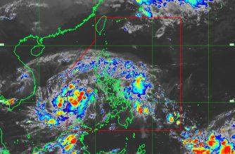 """TD """"Tino"""" as of 7:30 p.m. /PAGASA/"""