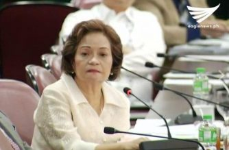 (File photo) Associate Justice Teresita de Castro testifies before the House justice panel hearing on the impeachment complaint against Chief Justice Maria Lourdes Sereno. / Eagle News Service