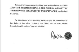 Customs officials who resigned after being dragged into corruption mess in BoC appointed to handle security matters in DoTR, CAAP