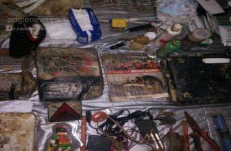 Panibagong war materials mula sa grupong NPA, narecover ng militar sa Rizal, Palawan